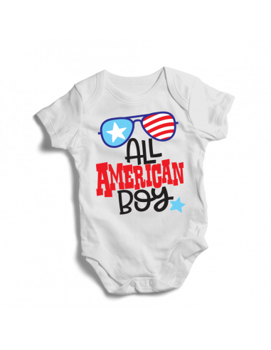All american boy, baby bodysuit