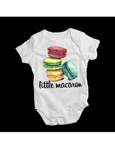 Little macaron, baby bodysuit