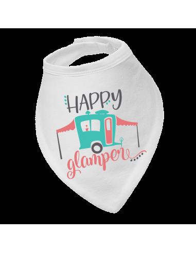 Baby bandana bib Happy glamper