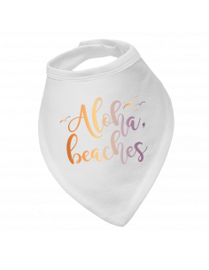 Baby bandana bib Aloha beaches