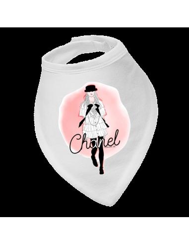 Baby bandana bib Chanel
