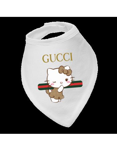 Baby bandana bib Gucci Hello Kity