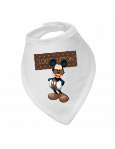 Baby bandana bib Louis Vuitton Mickey Mouse