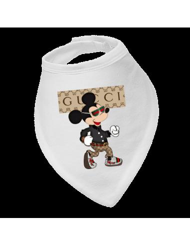 Baby bandana bib Gucci Mickey Mouse