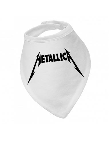 Baby bandana bib Metallica