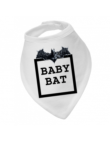 Baby bandana bib Baby Bat