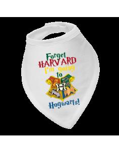 Baby bandana bib Forget Harvard…