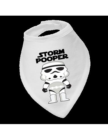 Baby bandana bib Storm Pooper