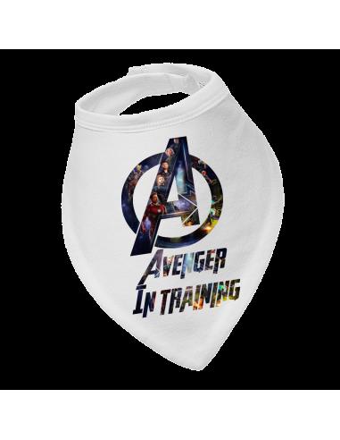 Baby bandana bib Avengers in training