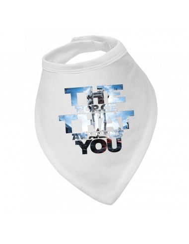 Baby bandana bib The force that awakens you