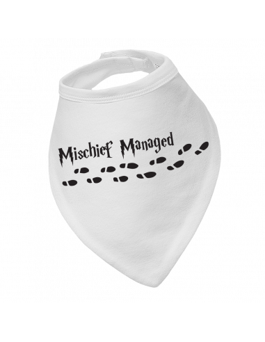 Baby bandana bib Mischief Managed