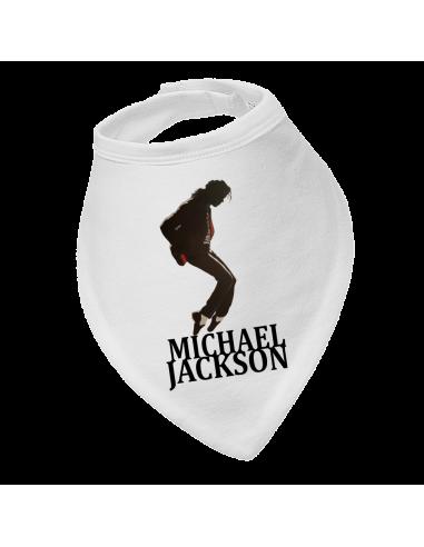 Baby bandana bib Michael Jackson