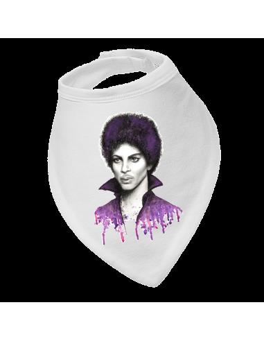 Baby bandana bib Purple Prince Nelson