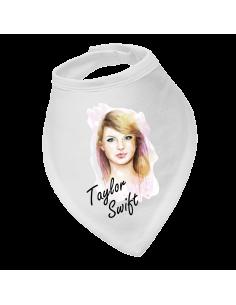 Baby bandana bib pink Taylor Swift