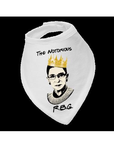 Baby bandana bib The Notorious R.B.G.