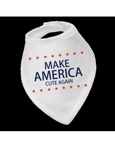Baby bandana bib Donald Trump