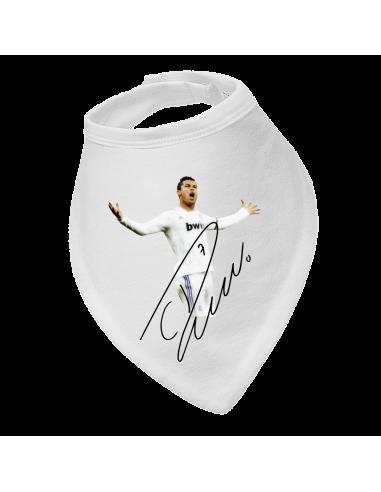 Baby bandana bib Cristiano Ronaldo and sign