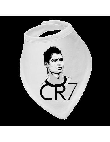 Baby bandana bib CR7 Cristiano Ronaldo