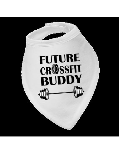 Baby bandana bib Future Crossfit Buddy