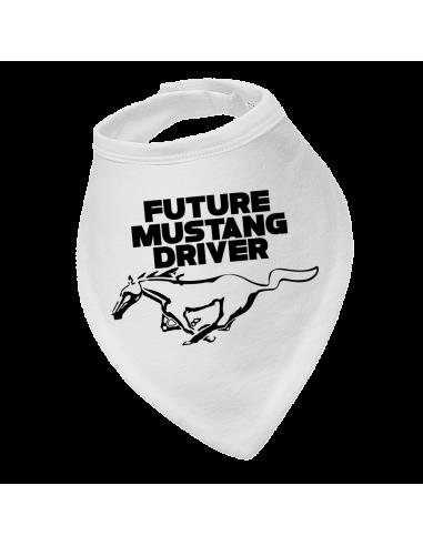 Baby bandana bib Future Mustang Driver
