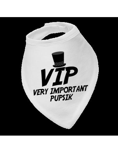 Baby bandana bib VIP very important pupsik