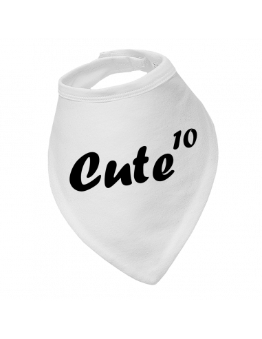 Baby bandana bib Cute