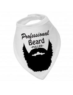 Baby drool bib Professional Beard Puller