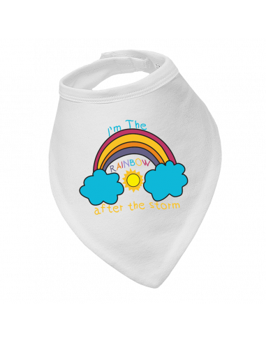 Baby bandana bibs I'm The Rainbow After The Storm