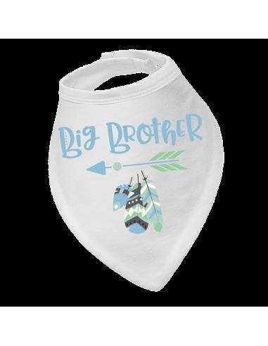 Baby bandana bibs, Big Brother Boho Style