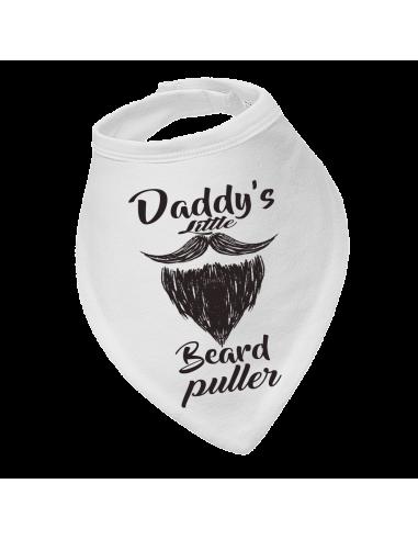 Baby bandana bibs, Daddy's Little Beard Puller