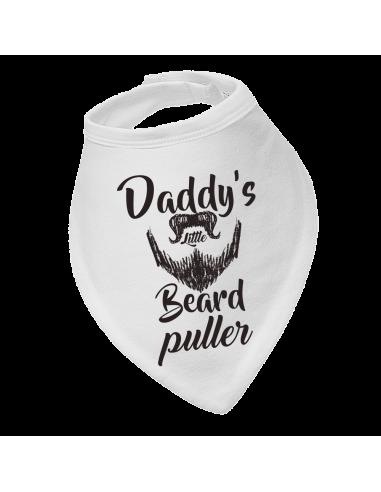 Baby drool bibs, Daddy's Little Beard Puller