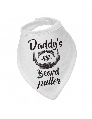 Baby saliva catcher, Daddy's Little Beard Puller