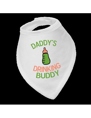 Baby drool bib, Daddy's Drinking Buddy