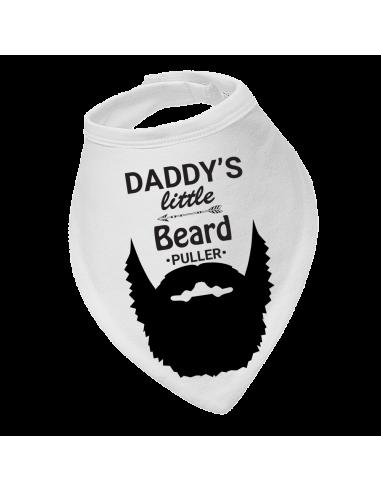 Baby drool bib, Daddy's Little Beard Puller