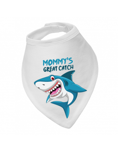 Baby bandana bib, Mommy's Great Catch