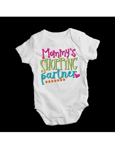 Mommy's shopping partner, baby onesie