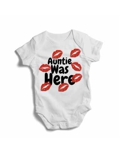 Kisses, auntie was here, baby onesies