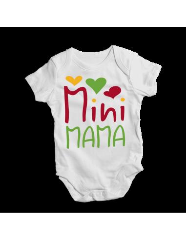 Mini mama, cute baby bodysuit