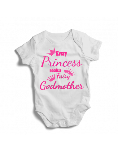 Every princess needs a fairy Godmother, baby bodysuit