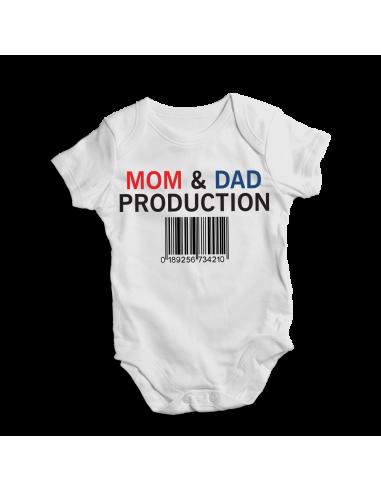 Mom & dad production, baby bodysuit