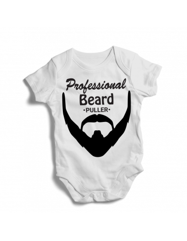 Professional beard puller , baby bodysuit