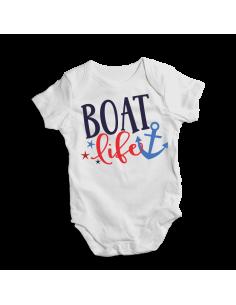 Boat life, baby bodysuit