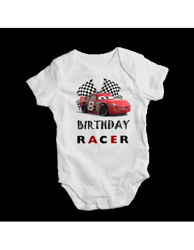 Birthday racer, cool baby bodysuit