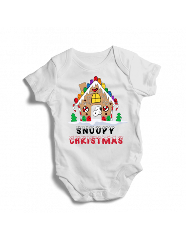 Snoopy Christmas, baby bodysuit