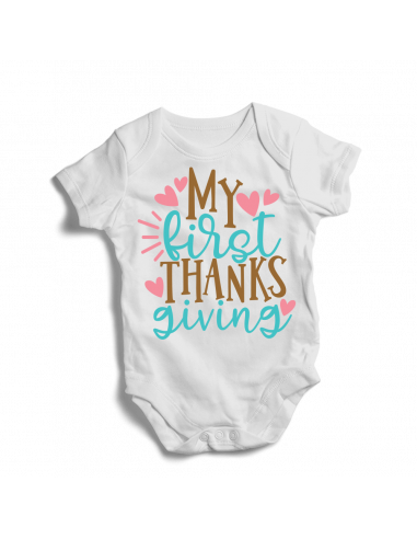 My first thanks giving, baby bodysuits
