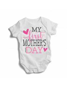My first Mother's day, baby bodysuits