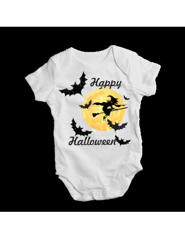 Happy Halloween, baby bodysuit