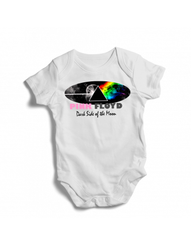 Pink Floyd, Pink Floyd Cosmo, Dark side of the moon, baby bodysuit
