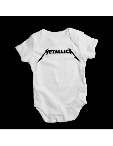 Metallica pop music, baby bodysuit