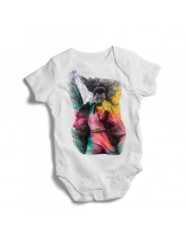 Elvis Presley, American singer and actor, rock and roll, baby bodysuit